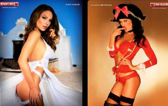 Sarah Nile Calendario.Nicole Minetti In Love E Il Sexy Calendario Di Sarah Nile