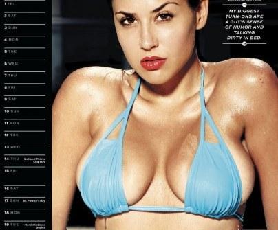Miriana Trevisan Calendario.Maxim Presenta Suo Sexy Calendario 2013 Bellezze In Bikini