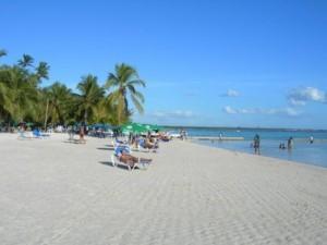 La spiaggia di Boca Chica