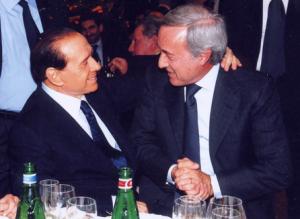 Silvio Berlusconi e Vittorio Pessina