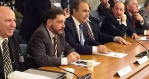 Mariano Gazzola insieme al presidente del MAIE, On. Ricardo Merlo