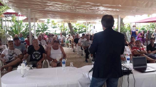 Ricardo Merlo, presidente MAIE, incontra i connazionali della RD a Boca Chica
