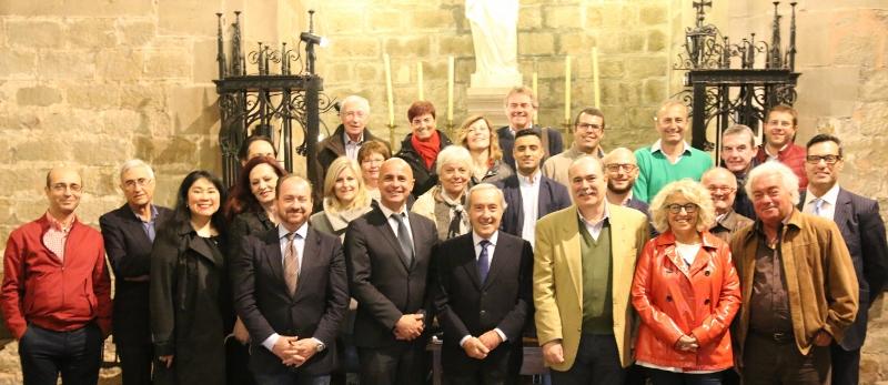 Vittorio Pessina incontra imprenditori italiani a Barcellona