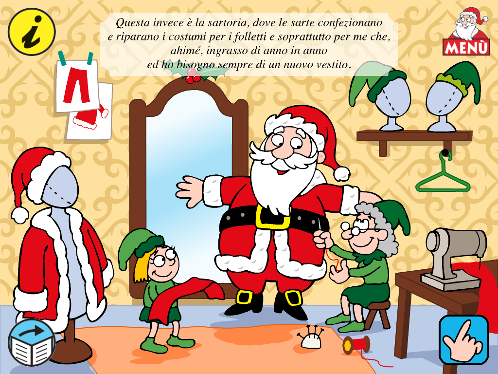 Babbo Natale Video Per Bambini.Il Villaggio Di Babbo Natale Arriva Sull Ipad Italia Chiama Italia
