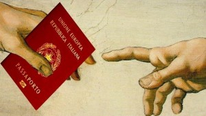 Passaporto mani