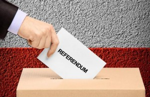 Referendum urna