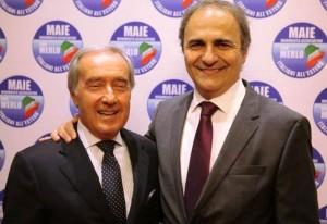Vittorio Pessina (a sinistra nella foto) e Ricardo Merlo