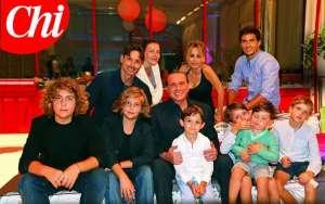 Berlusoni e famiglia