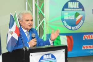Augusto Sorriso, coordinatore MAIE Usa, interviene al primo Congresso MAIE Nord e Centro America - Santo Domingo, ottobre 2016