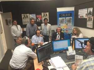 Francesco Giacobbe in radio