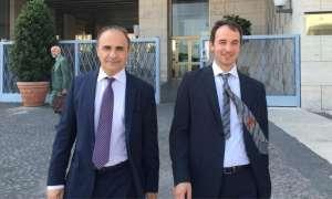 DEPUTATI MAIE L'On. Ricardo Merlo, a sinistra nella foto, con l'On. Mario Borghese