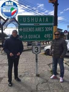 Ricardo Merlo e Mario Borghese, deputati MAIE, alla fine del mondo