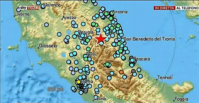 terremoto centro