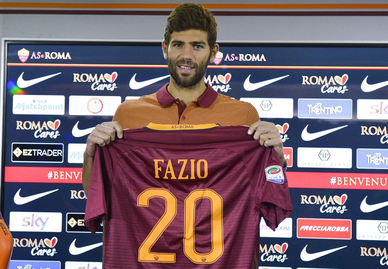 """Calcio, Roma: l'argentino Federico Fazio, """"mio nonno era siciliano ..."""