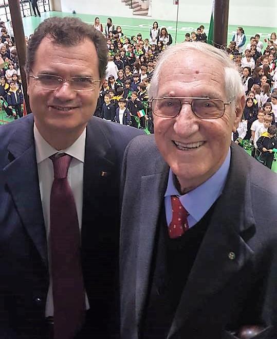 Fabio Porta insieme a Edoardo Pollastri