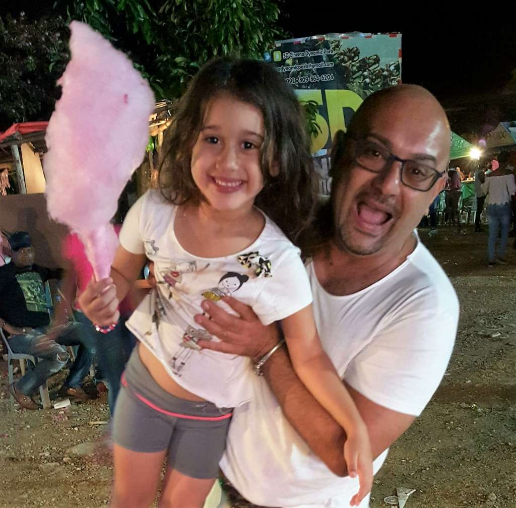 Gino con la sua bellissima figlia