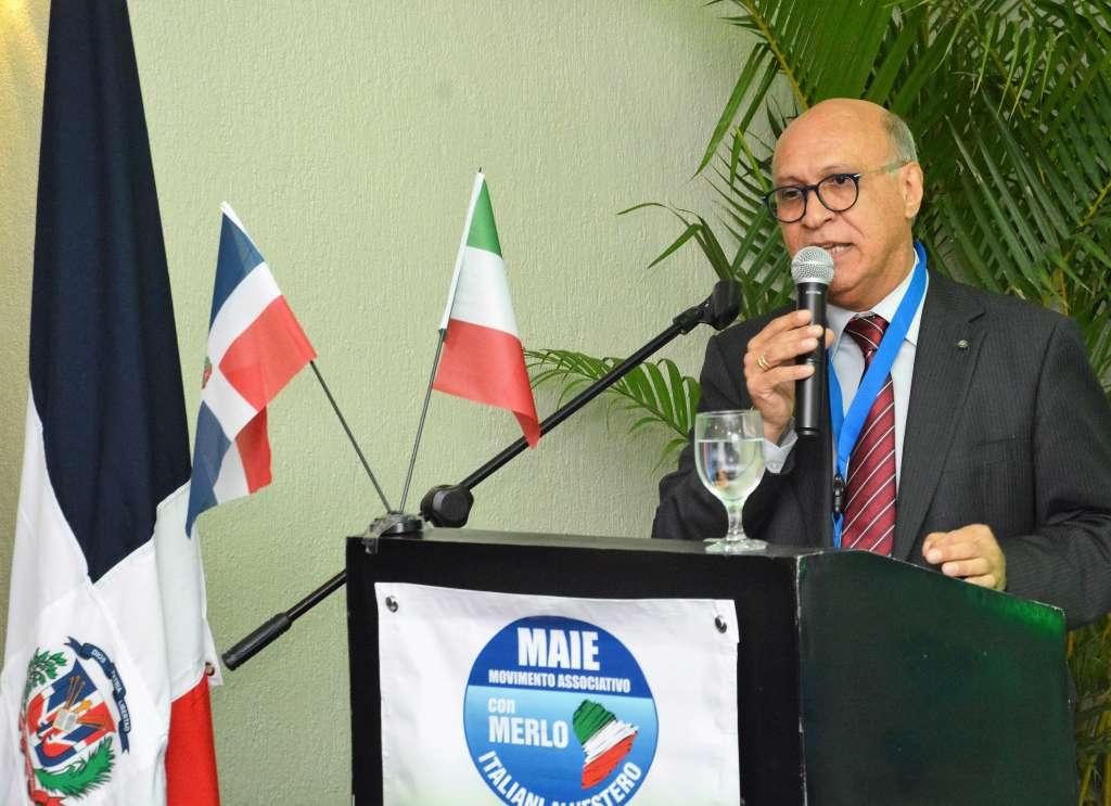 Angelo Viro interviene al primo Congresso MAIE Nord e Centro America - Santo Domingo, ottobre 2016