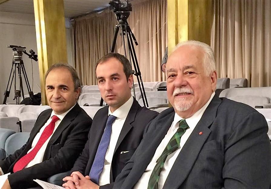 CGIE - da sinistra, nella foto, On. Ricardo Merlo, On. Mario Borghese, consigliere Juan Esteban Balestretti