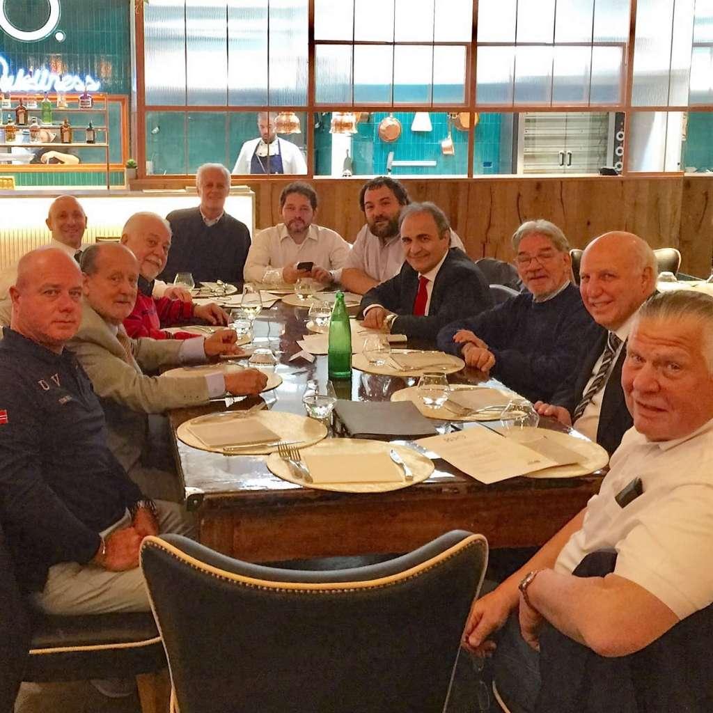 Cena MAIE CGIE a Roma, presente anche il presidente Ricardo Merlo