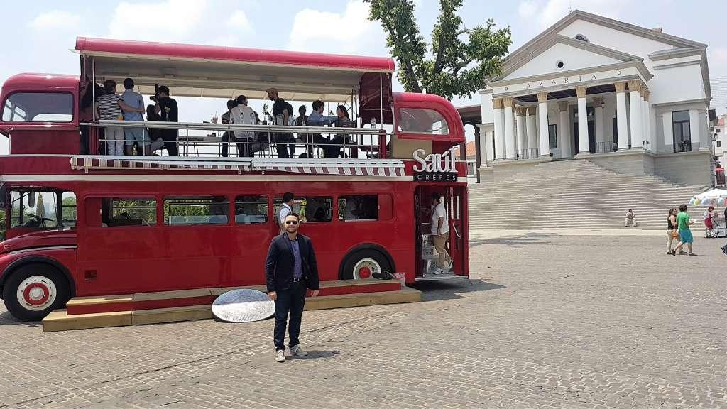 """Flavio Bellinato visita Paseo Cayalà, Città del Guatemala, luogo in cui si è tenuto l'evento """"Paseo Italia"""" all'insegna del made in Italy e della cultura italiana"""