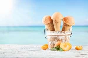 albicocca gelato