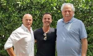 Da sinistra, nella foto, Michele Merlo, Ricky Filosa, Augusto Cavallini