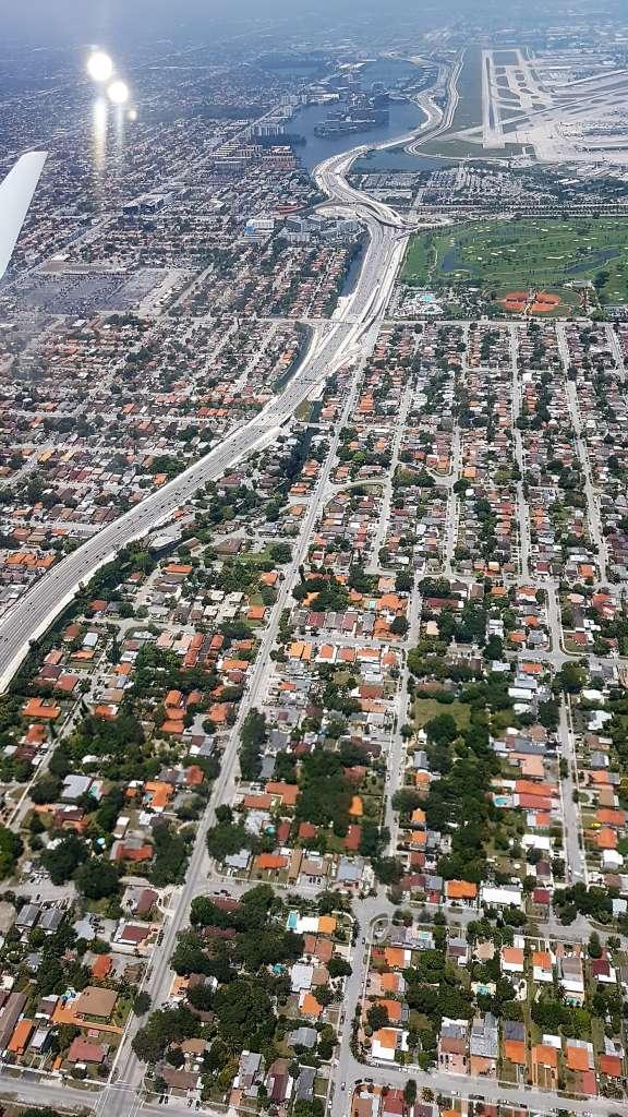 Miami vista dall'alto