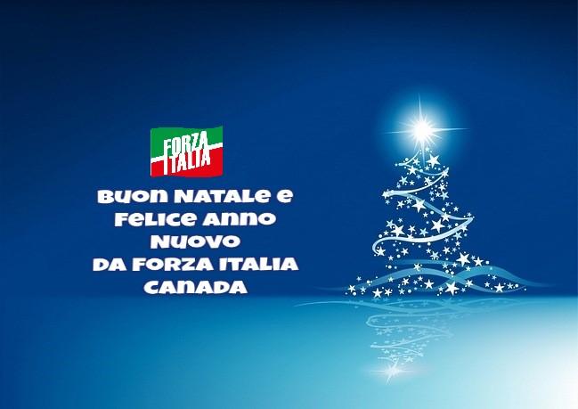 Auguri Di Buone Feste Natalizie Immagini.Italiani All Estero Auguri Di Buone Feste Da Forza Italia