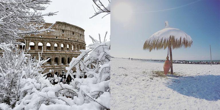 Risultati immagini per freddo italia primavera