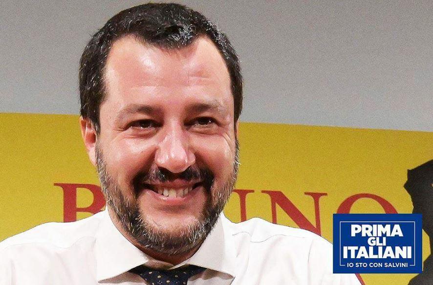 Elezioni Europee,stravince la Lega. Matteo Salvini si conferma primo a Riace e Lampedusa