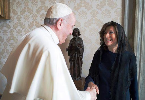 Maria Elisabetta Alberti Casellati Ricevuta Da Papa Francesco Italia Chiama Italia